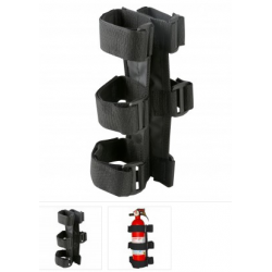 Fire Extinguisher Holder  Black