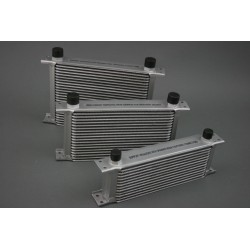 Universal 19 Row Aluminium Oil Cooler with 1/2″ BSP male fittings