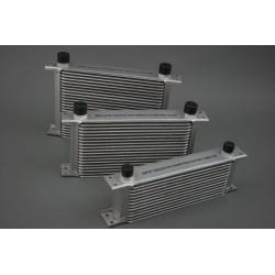 Universal 34 Row Aluminium Oil Cooler 3/4″ BSP male fittings
