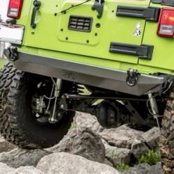 Rear Steel Bumper POISON SPYDER BFH - Jeep Wrangler JK
