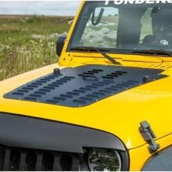 Hood Louver POISON SPYDER - Jeep Wrangler JK 13-16