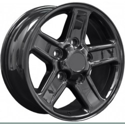 Boost Alloy Wheel 7x18 5x165 - Black