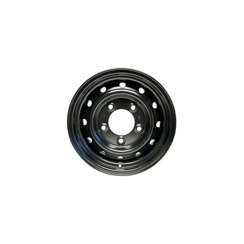 "Land Rover Wolf Style Wheel 6.5x16"" - Black"
