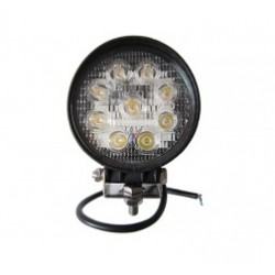 27W 9LED Round off Road Driving LED