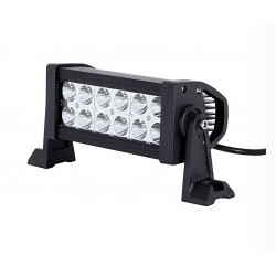 "7"" 36W 4x4 LED Driving Light Bar spot flood combo"