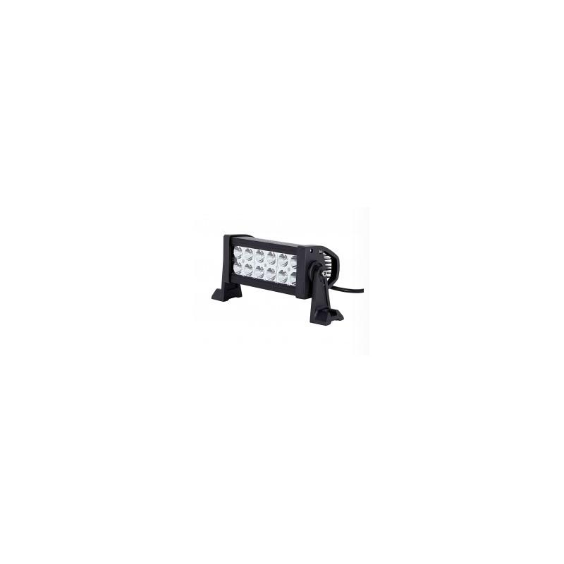 "7"" 36W 4x4 LED Driving Light Bar spot flood combo"