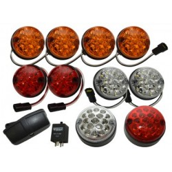 Wipac LED Light Kit for Defender / Series - Coloured Deluxe