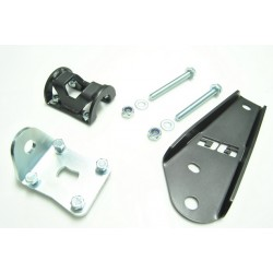 Braket for steering damper  D6 to Land Rover