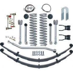 "4,5"" Rubicon Express Super Flex Lift Kit Suspension - Jeep Cherokee XJ"