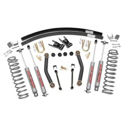 "4,5"" Rough Country Lift Kit Basic suspension - Jeep Cherokee XJ"