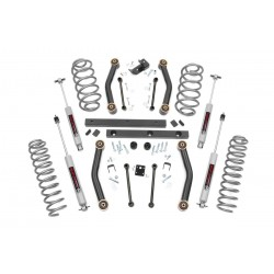 "4"" Rough Country Lift Kit - Jeep Wrangler TJ 97-02"