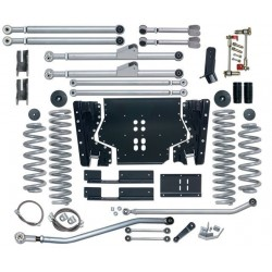 3.5'' Extreme Duty Long Arm Lift Kit Rubicon Express - Jeep Wrangler TJ 03-06