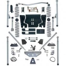 4.5'' Extreme Duty Long Arm Tri-Link Lift Kit Rubicon Express - Jeep Wrangler TJ 97-02