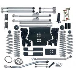 5.5'' Extreme Duty Long Arm Lift Kit Rubicon Express - Jeep Wrangler TJ