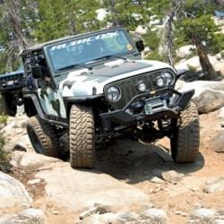 Long Arm Upgrade Lift Kit Rubicon Express - Jeep Wrangler TJ 03-06