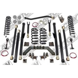 "4"" CLAYTON OFF ROAD Long Arm Lift Kit suspension - Jeep Wrangler TJ"