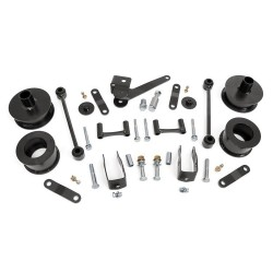 "2,5"" Rough Country lift kit suspension - Jeep Wrangler JK"
