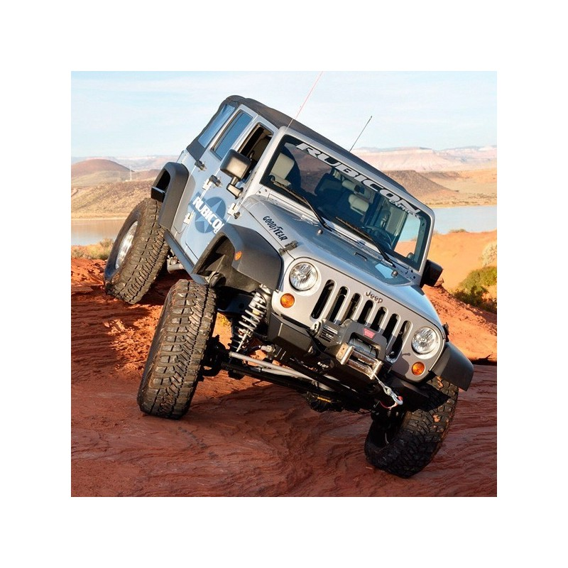 Extreme-Duty 4-Link Long Arm Coilover Kit RUBICON EXPRESS - Jeep Wrangler JK