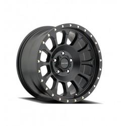 "Alloy Wheel 8,5x17"" 5x127 ET 0 - ProComp Model 5034 Satin Black - Jeep Wrangler JK"