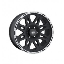 "Alloy wheel 9x17"" 5x127 ET -6 - ProComp Model 7105 Flat Black - Jeep Wrangler JK"