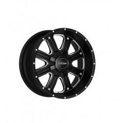 "Alloy Wheel 9x17"" 5x127 ET -6 - ProComp Model 5182 Matte Black - Jeep Wrangler JK"