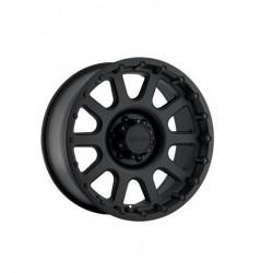 "Alloy Wheel 9x17"" 5x127 ET -6 - Pro Comp Model 7032 Satin Black - Jeep Wrangler JK"