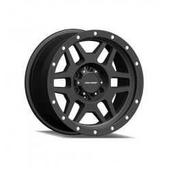 "Alloy Wheel 9x17"" 5x127 ET -6 - ProComp Model 5041 Satin Black - Jeep Wrangler JK"