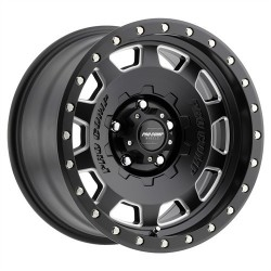 "Alloy Wheel 9x17"" 5x127 ET -6 - ProComp Model 5160 Satin Black - Jeep Wrangler JK"
