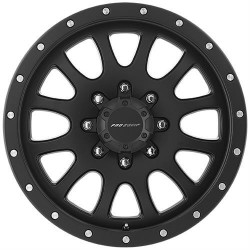 "Alloy Wheel 9x17"" 5x127 ET -6 - Pro Comp Model 5044 Satin Black - Jeep Wrangler JK"