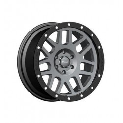 "Alloy Wheel 9x17"" 5x127 ET -6 - ProComp Model 2640 Gray & Black - Jeep Wrangler JK"