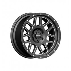 "Alloy Wheel 9x17"" 5x127 ET -6 - ProComp Model 5140 Satin Black - Jeep Wrangler JK"