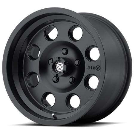 """Alloy Wheel 8x17"""" 5x127 ET0 ATX Model 199 Black - Jeep Wrangler JK"""