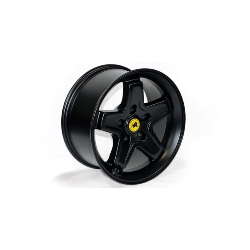 Alloy wheel 8 5x17 5x127 ET+10 - AEV Pintler Black Jeep Wrangler JK