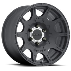 "Alloy Wheel 8.5x17"" 5x127 ET 0 308 Matte Black Finish Method - Jeep Wrangler JK"