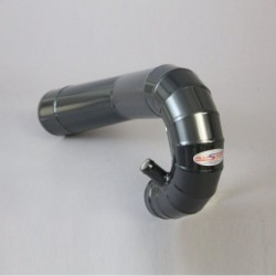 DEFENDER TD5 ALLOY AIR INTAKE PIPE BLACK ALLISPORT