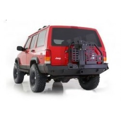REAR BUMPER SMITTYBILT XRC TIRE CARRIER – JEEP CHEROKEE XJ