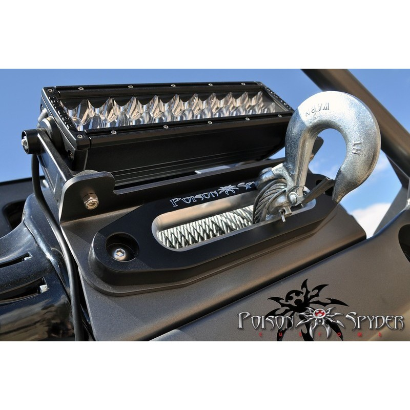 WINCH FAIRLEAD MOUNT POISON SPYDER