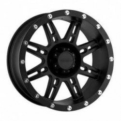 "ALLOY WHELL 8X16"" PRO COMP 7069 FLAT BLACK"