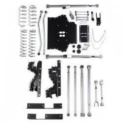 4.5'' Extreme Duty Long Arm Lift Kit Rubicon Express - Jeep Wrangler TJ 03-06