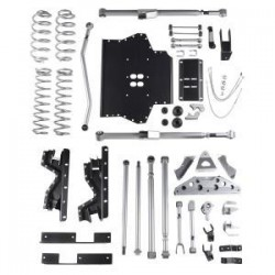 4.5'' Extreme Duty Long Arm Tri-Link Lift Kit Rubicon Express - Jeep Wrangler TJ 03-06