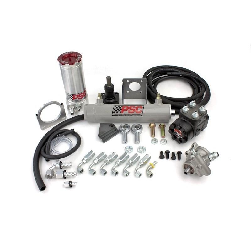 "PSC Motorsports Trail Series 2.5"" Single Ended Steering Cylinder Kit w/ TC-pump"