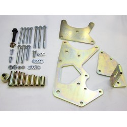 GM LS Truck Vortec TC Pump/ALT Relocation Bracket, Truck Belt Spacing