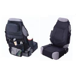 Front Seat Covers Black Smittybilt - Jeep Wrangler JK